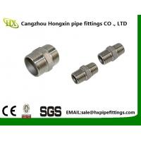 Buy cheap 2 Hex Nipple 3/8 Male x 3/8 Male 304 Stainless Steel threaded Pipe Fitting NPT from wholesalers