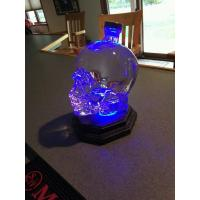 Crystal Head Skull Vodka Bottle Light Stand Glorifier Base LED Remote Control