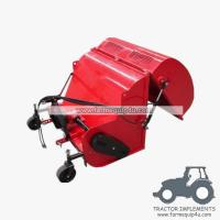 Cheap FMC120 Farm implements tractor 3point flail mower with collector wholesale