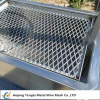 Cheap Expanded Metal Barbecue Grill Disposable or Recycled BBQ Grille 0.5Thickness wholesale
