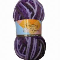 Buy cheap Acrylic Knitting Yarn, Packed Balls and Cones, Ideal for Promotional Purposes from wholesalers