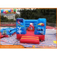 Cheap Digital Printing Inflables Juegos Kids Castillos / Commercial Bounce House wholesale