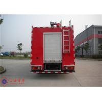 Cheap Rotatable Cab Foam Fire Truck Red Printed Inline Eight - Cylinder Engine wholesale