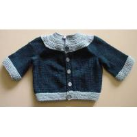Cheap 2012 fashion 100% cotton Long Sleeve Spring and Winter Baby Knitted Cardigans Sweater wholesale