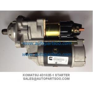 Quality Komatsu 4D102E-1 STARTER MOTOR Komatsu Graders Excavators 600-863-4410 0-24000-3060 wholesale