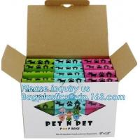 Cheap Scented Eco Friendly Dog Products Mixed Dog Pet Waste Poop Bags Refill Rolls wholesale