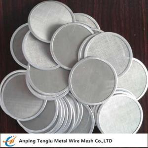 Cheap Single Layer Filter Net Piece|SUS304 Wire Mesh Filter Disc 12x64mesh wholesale