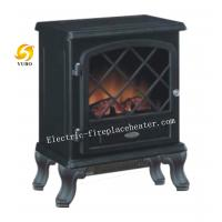 European Style Indoor 1500W Electric Stove Heater With Flame Effect