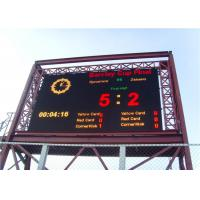 Cheap Score billboard for basketball football perimeter led display wholesale