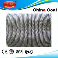 Cheap Stainless, PVC Coated / galvanized, ungalvanized steel wire rope wholesale