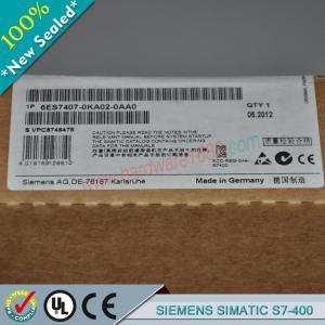 Cheap SIEMENS SIMATIC S7-400 6ES7400-0HR01-4AB0 / 6ES74000HR014AB0 wholesale