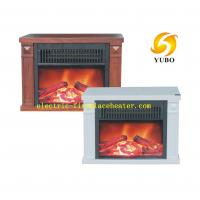 Quality Carriable Household Mini Fireplace Stove With Plastic Frame 345 X 170 X 245mm for sale