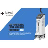 Cheap CO2 Fractional Laser Acne Scar Removal Machine , Wrinkle Removal wholesale