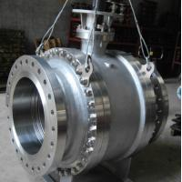 Buy cheap Pneumatic Worm Gear Ball Valve , Metal Seated Ball Valves For High Temperature from wholesalers