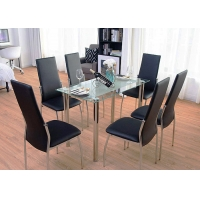 Cheap Nordic Style Classic 6 Seater Modern Dinning Table And Chairs wholesale
