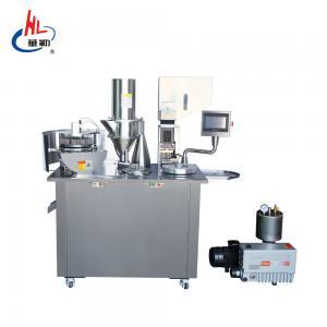 Cheap Advanced Touch Screen Semi Automatic Capsule Filling Machine Oil Vacuum Pump wholesale