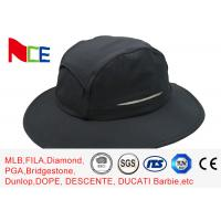 Buy cheap Summer Camping Climbing Fisherman Outdoor Boonie Hat / ACE Black Bucket Hat from wholesalers