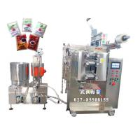 Cheap VFFS Full Automated Sauce Packing Machine With 3 / 4 Sides Seal , 4KW/AC 380V wholesale