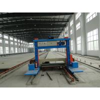 China Horizontal Long Sheet Foam Cutting Machine For Rigid PU Foam 60m / Min on sale