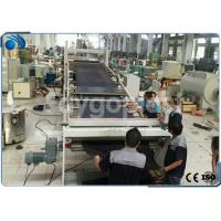 Cheap Automatic PVC Board / Plastic Sheet Making Machine Extrusion Line High Precision wholesale