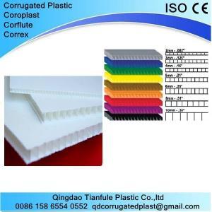 Cheap Plastic Correx Sheet for Floor Protection wholesale