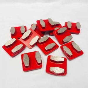 Cheap 13mm Segments Redi Lock  Metal Bond Concrete Floor Tools Abrasive Grinding Blocks wholesale