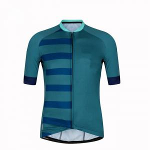 Cheap Reflective Men Race Fit Hot Style Light Weight OEM Cycling Jersey wholesale