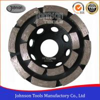 Cheap Soft Medium Hard Bond Concrete Grinding Wheel For Fast Grinding Double Row wholesale