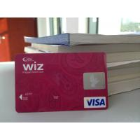 Cheap Plastic VISA Smart Card / Prepaid Debit Card with Hologram Label wholesale