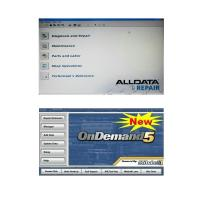 Cheap Alldata 10.50 and Mitchell Ondemand5 2 in 1 Automotive Diagnostic Software wholesale
