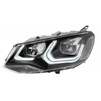 Quality Black Housing LED Car Headlights / Hid Led Headlights Easy Installation for sale