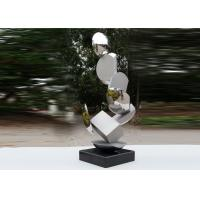 Cheap Modern Stainless Steel Sculpture Highly Polished For Pool Decoration wholesale