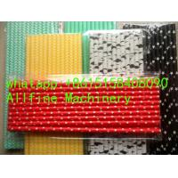 Buy cheap paper straws wholesale high quality Striped most classic and popular design Eco-friendly biodegradable making extruder from wholesalers
