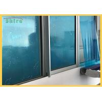 China Tearable Blue Color Window Glass Protection Film , Temporary Protection Film on sale