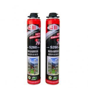 Cheap Environmentally Polyurethane Foam Spray Fire Prevention For Wooden Door Sealing wholesale
