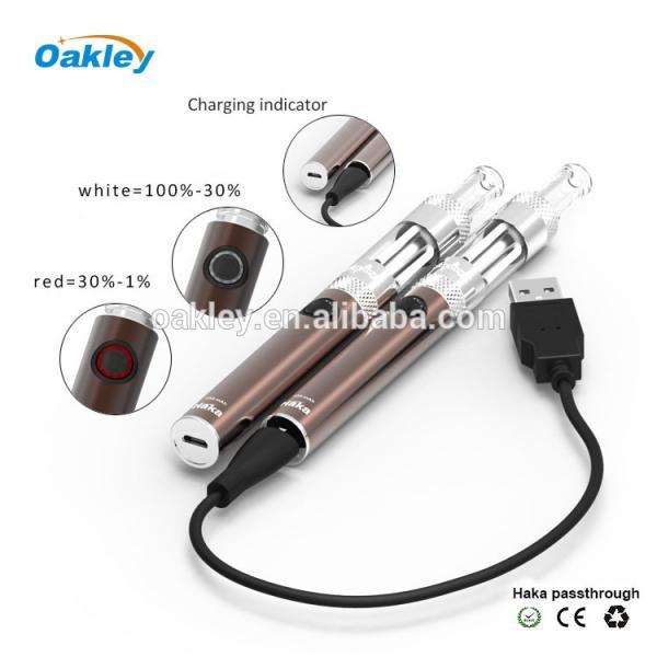 Haka oakley gemini electronic cigarette,E cig single kit,Haka w/gemini clearomizer