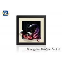 Cheap PVC / MDP Frame 3D 5D Pictures Different Animal Patterns Wall Decoration wholesale