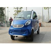 Blue Color Mini Electric Car Family 2200 W With 3 Seats 2400*1270*1500mm