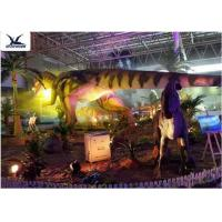 Cheap Indoor Shopping Mall Realistic Dinosaur Statues Decoration Full Size Animal Models wholesale