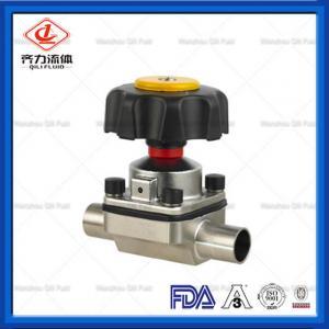 Cheap Stainless Steel Hygienic Diaphragm Valve Multi Port DN25  Manual Diaphragm Valve wholesale