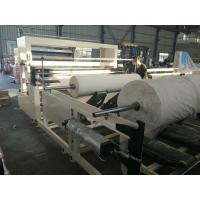 Cheap Two Stands Tissue Paper Making Machine , Paper Slitters And Rewinders wholesale