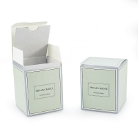Cheap China High Quality Paper Card Packaging Box Supplier For Scented Candle wholesale