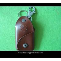 Cheap High Quality Promotion Souvenir Gift Leather keychain with key tag for wholesale wholesale