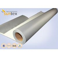 Cheap SUNTEX One Side Silicone Coated Fiberglass Cloth Steam Pipe Insulation Material wholesale