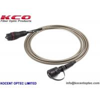 Buy cheap Spiral Armored Anti-rodent Outdoor Fiber Optic Patch Cord FTTA Military Field from wholesalers