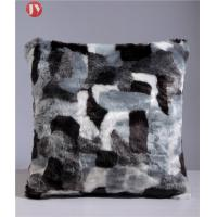 Cheap Natural Color Faux Fur Pillows Cushion Cover Dry Washable Car Seat Decorative wholesale