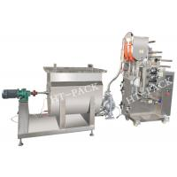 Cheap SUS304 liquid / Jam / Sauce Packaging Machinery with PLC Controller wholesale