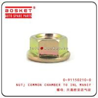 Buy cheap 0-91150210-0 0911502100 Isuzu Engine Parts Common Chamber To Inlet Manifold Nut from wholesalers