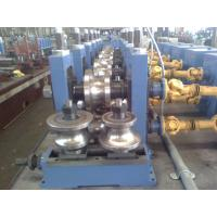 Cheap High Frequence Straight Seamy Welded Tube Mill , ERW Galvanized Pipe wholesale