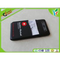 Cheap Durable Non-toxic Silicone Card Holder Silk Print Logo With Manual Paper wholesale